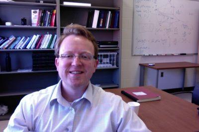 Professor Puckett in office