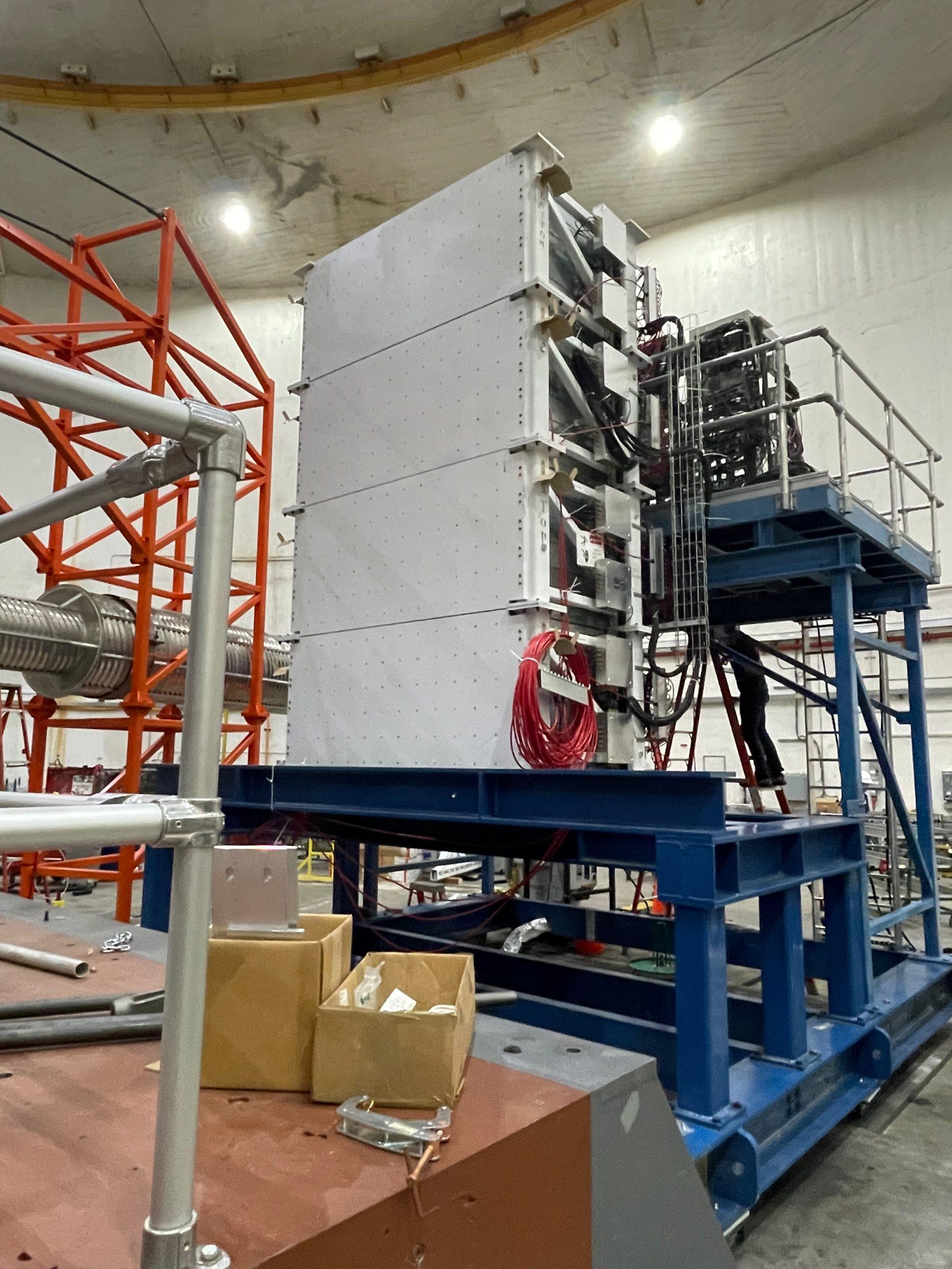 Front view of SBS Hadron Calorimeter