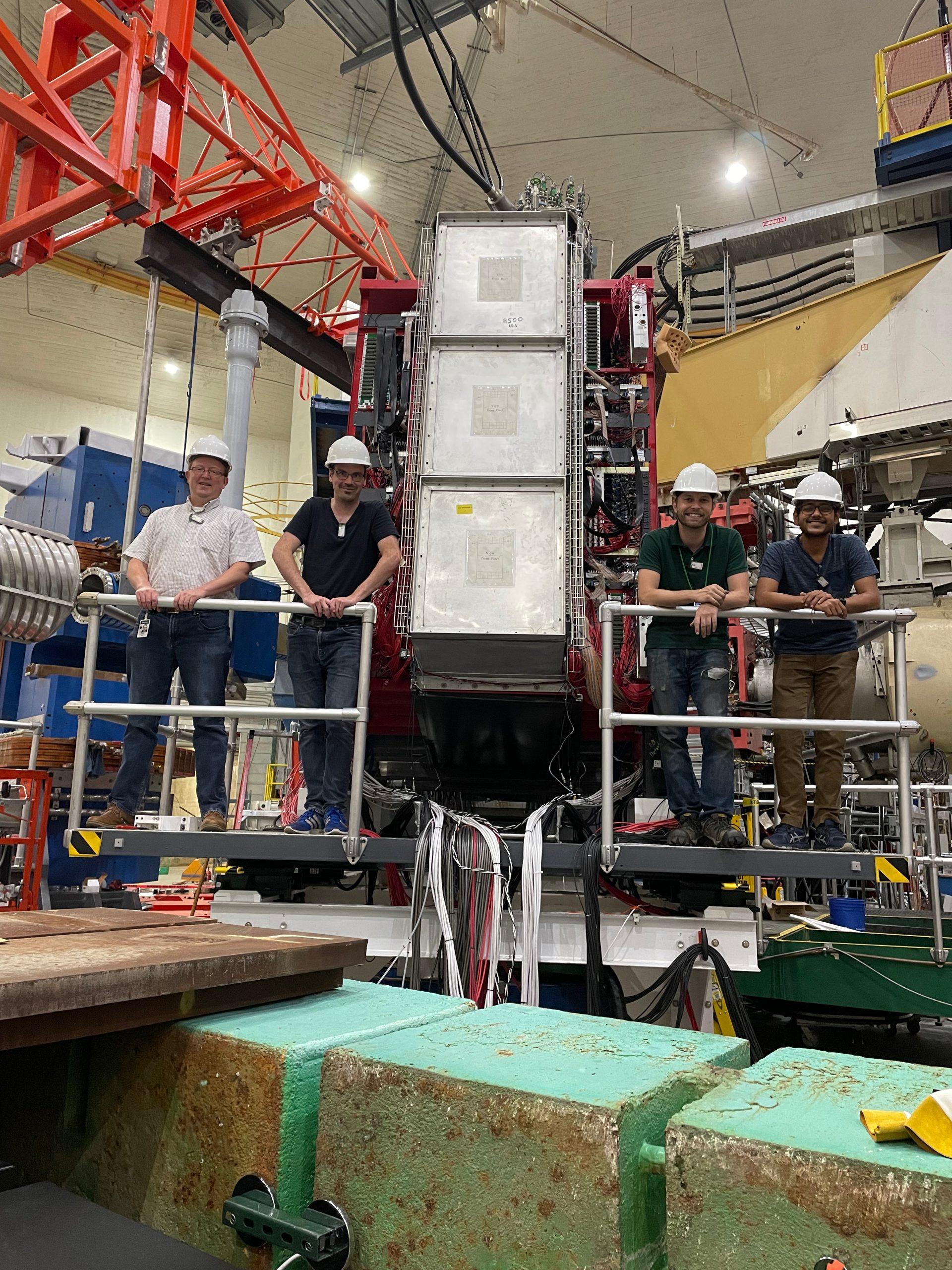 The UConn group on the BigBite Spectrometer platform